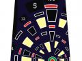 dartboard tie