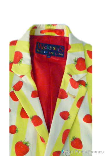 strawberry jacket v 360