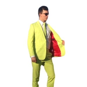 Brightly Coloured Suits Pistaschio Suit Yellow Suit