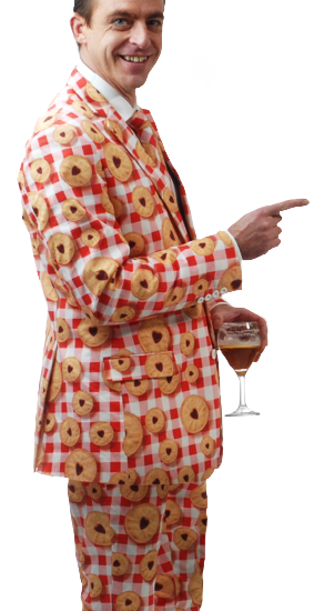 Huge Sale on Wackysuits.£150. Next Day Delivery. Order Beautifully Tailored Suits from wackysuits.co.uk Gorgeous tailored 100% cotton. Luxuriously Lined. Funny Crazy Suits.